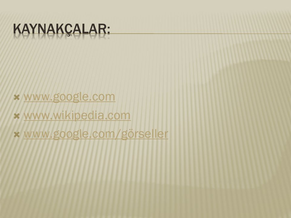  www.google.com www.google.com  www.wikipedia.com www.wikipedia.com  www.google.com/görseller www.google.com/görseller