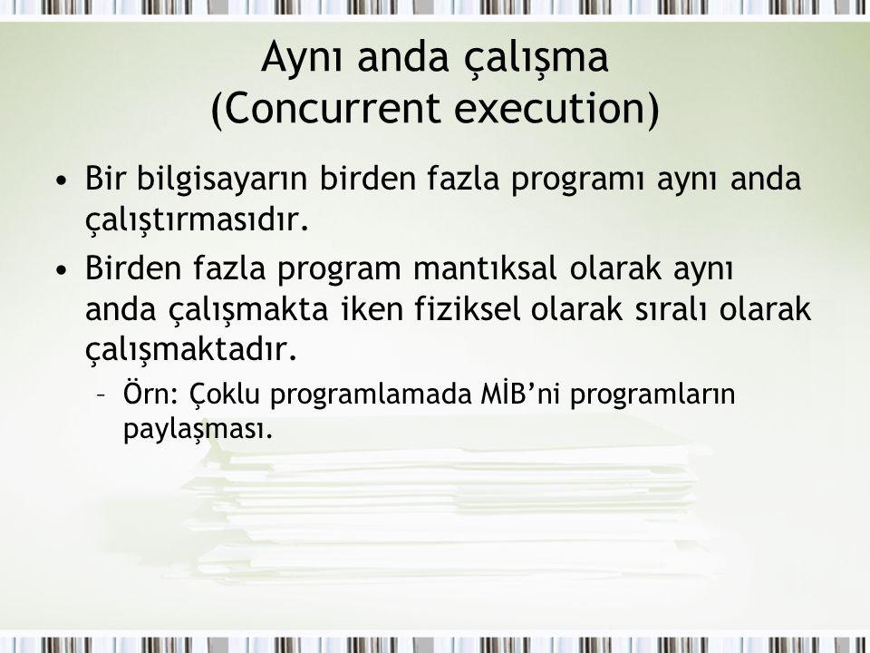 Çoklu programlama