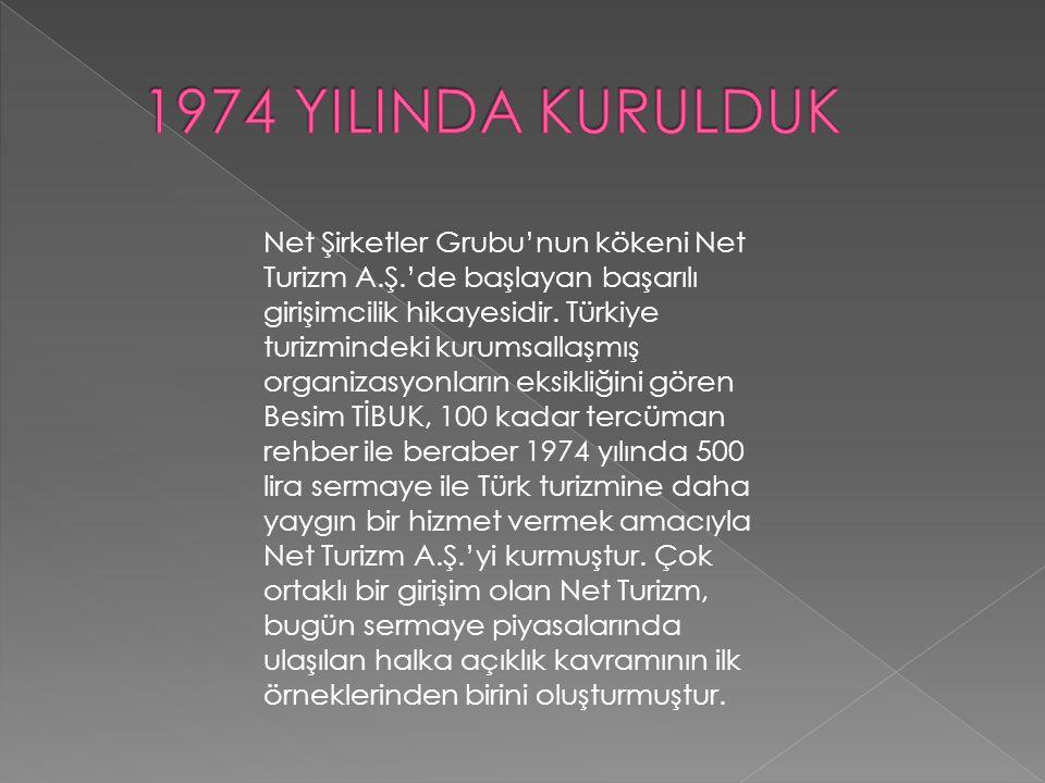 NET TURİZM A.Ş.