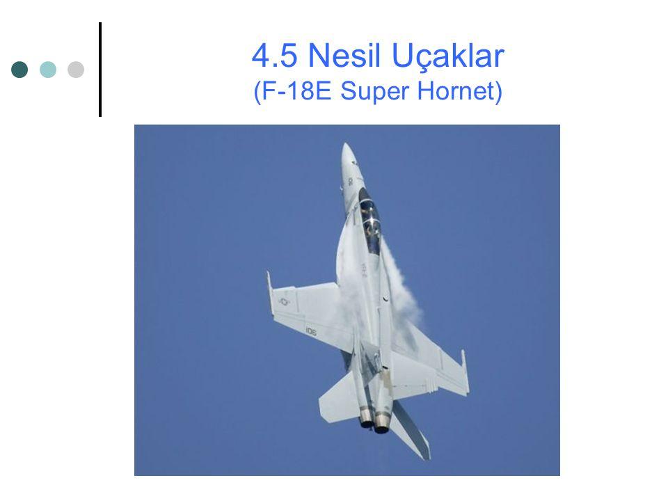 4.5 Nesil Uçaklar (F-18E Super Hornet)