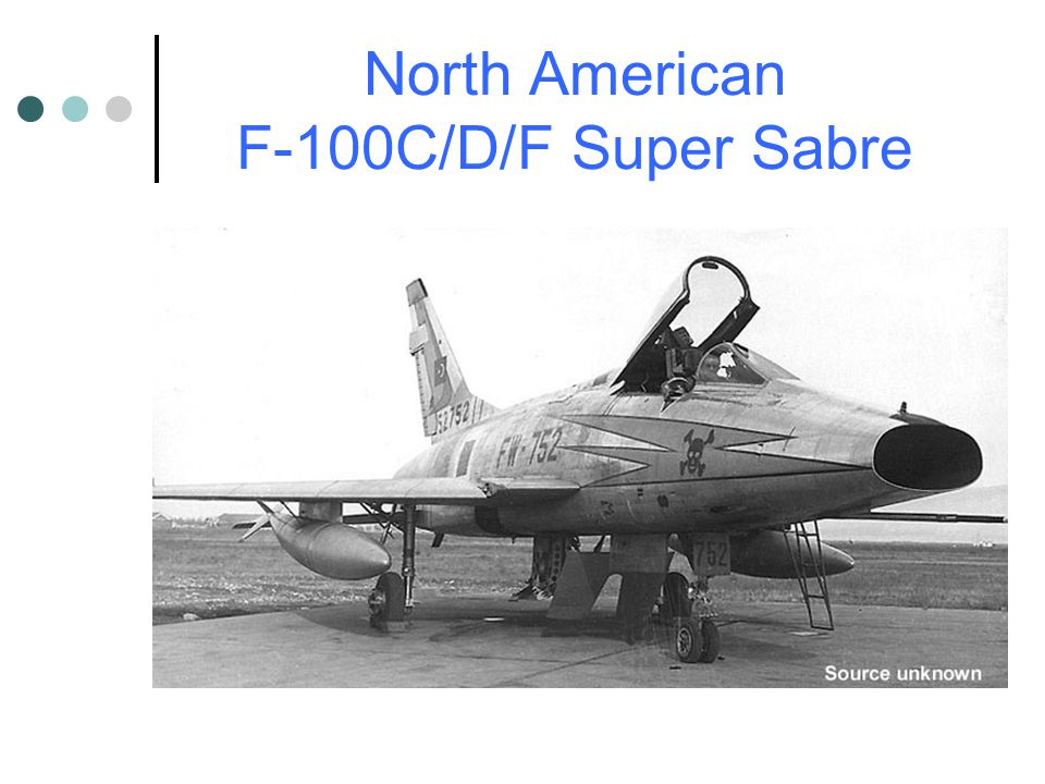 North American F-100C/D/F Super Sabre