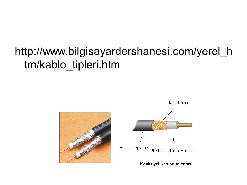 http://www.bilgisayardershanesi.com/yerel_h tm/kablo_tipleri.htm