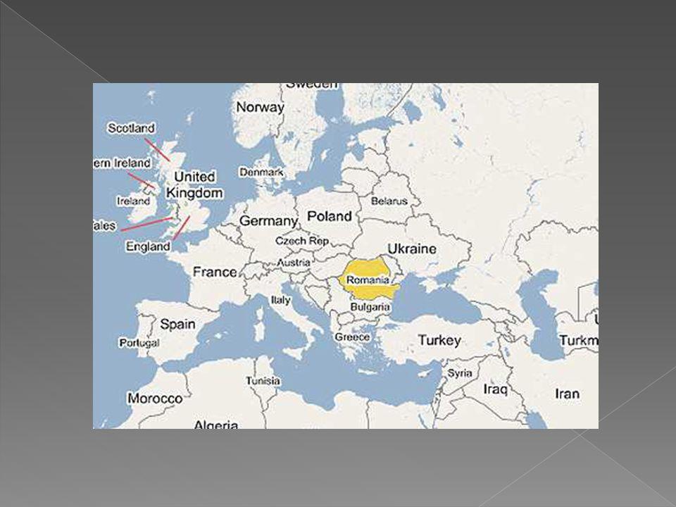  238,391 km² lik bir alana yayılan Romanya, Avrupa nın en geniş yüz ölçümüne sahip 12., dünyanın 82.