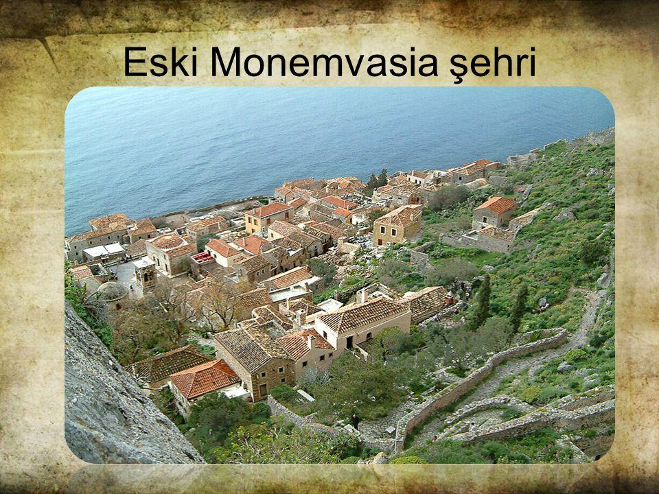 Eski Monemvasia şehri