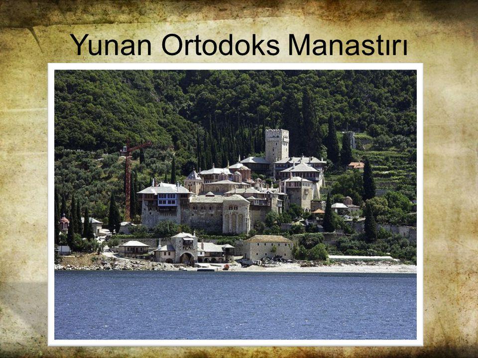 Yunan Ortodoks Manastırı