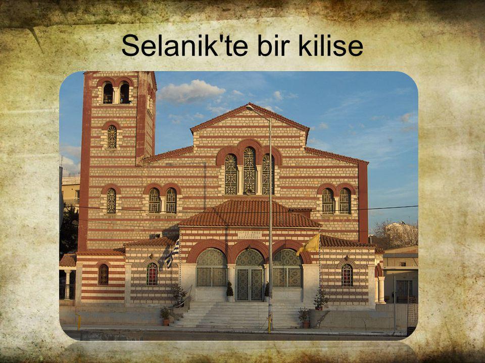 Selanik te bir kilise