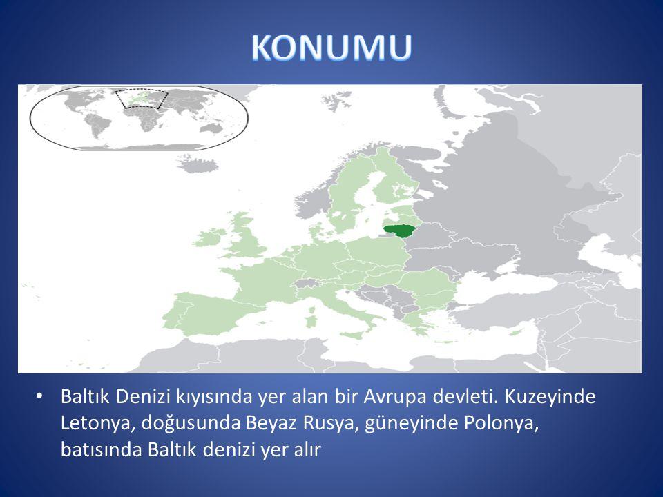 Baltık Denizi kıyısında yer alan bir Avrupa devleti. Kuzeyinde Letonya, doğusunda Beyaz Rusya, güneyinde Polonya, batısında Baltık denizi yer alır