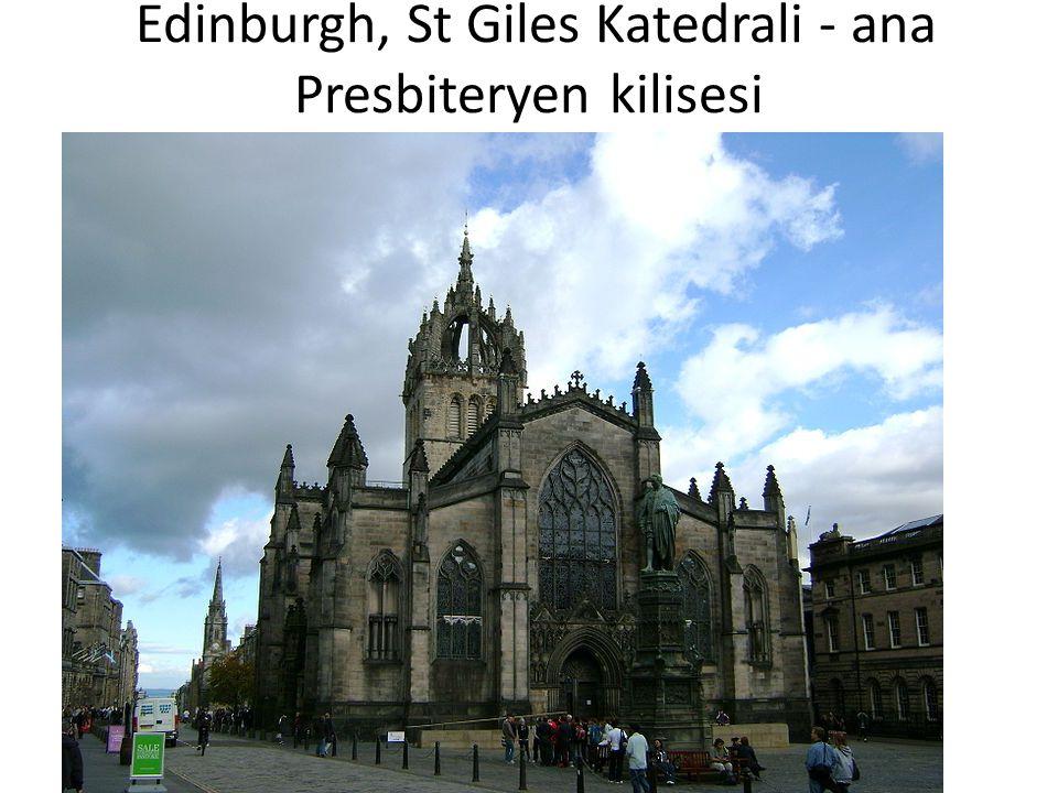 Edinburgh, St Giles Katedrali - ana Presbiteryen kilisesi