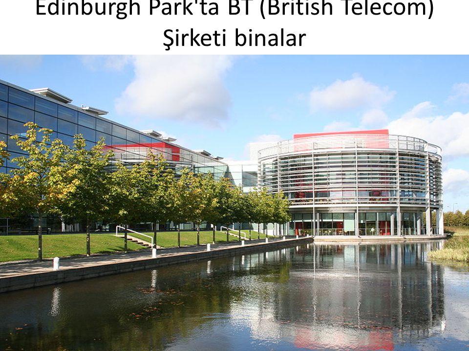 Edinburgh Park'ta BT (British Telecom) Şirketi binalar