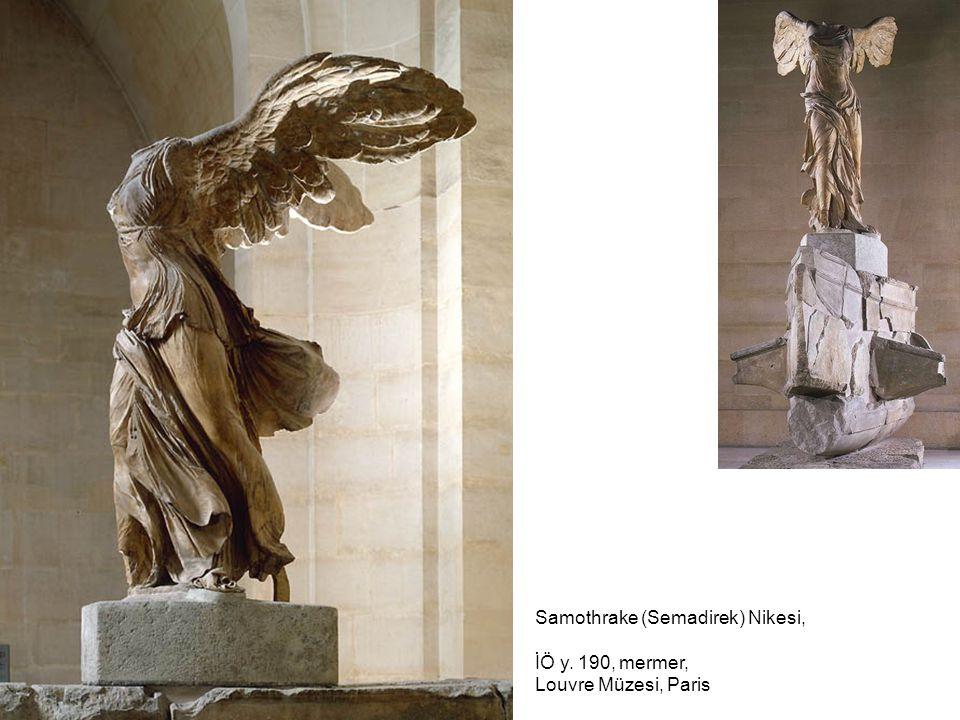 Samothrake (Semadirek) Nikesi, İÖ y. 190, mermer, Louvre Müzesi, Paris