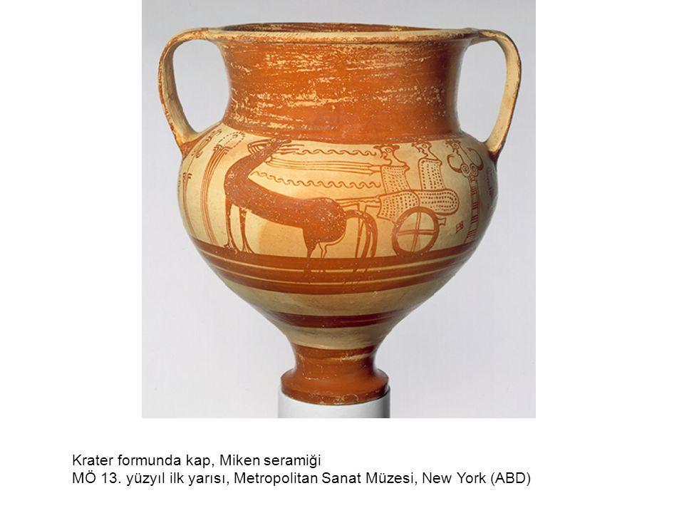 Pyxis (kapaklı kap) MÖ 8.