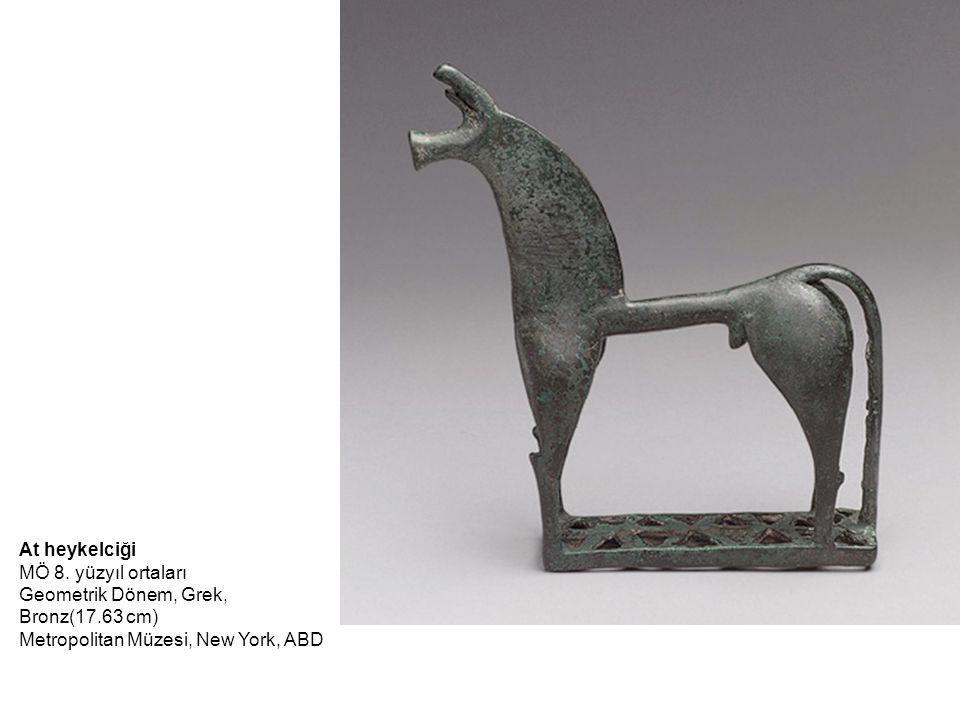Kore (Cheramyes Grubu) MÖ y.570–560; Arkaik Yunan Samos Mermer; y.