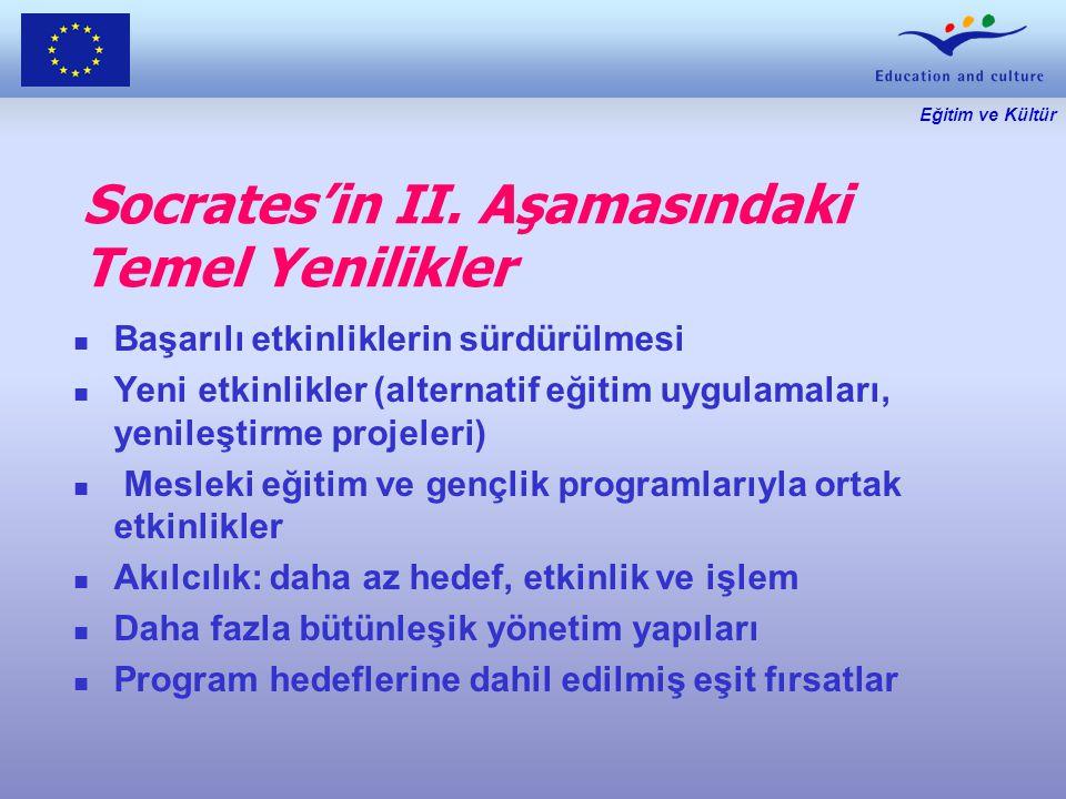 Eğitim ve Kültür Socrates'in II.