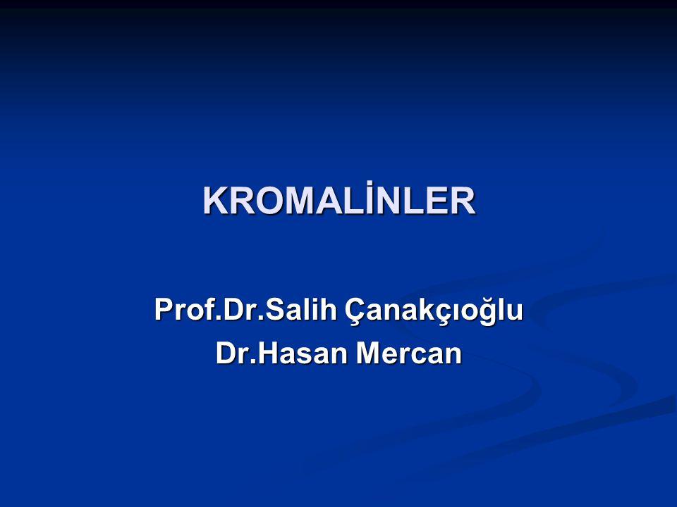 KROMALİNLER Prof.Dr.Salih Çanakçıoğlu Dr.Hasan Mercan