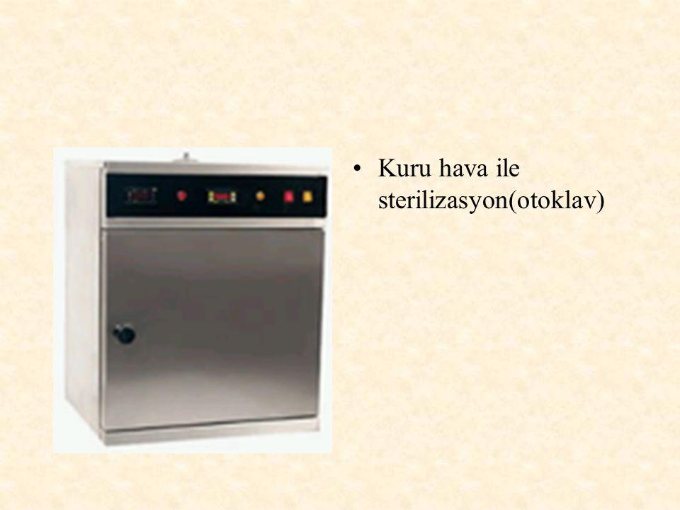 Kuru hava ile sterilizasyon(otoklav)