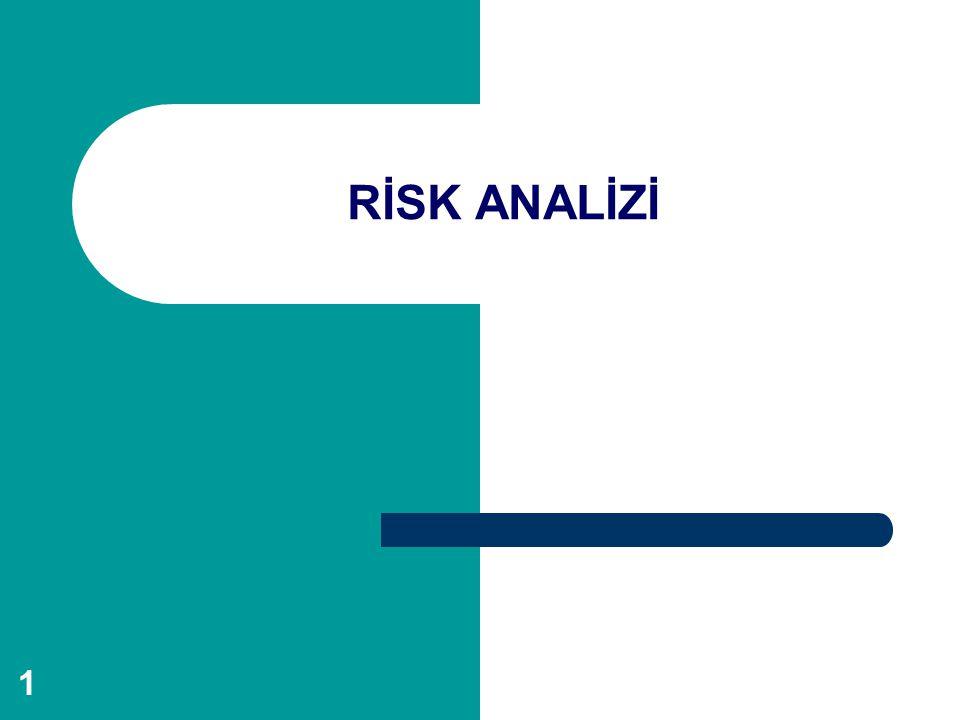 2 Risk nedir.İyi bir yaşam, eldeki olanakların en iyi biçimde değerlendirilmesiyle sağlanır.