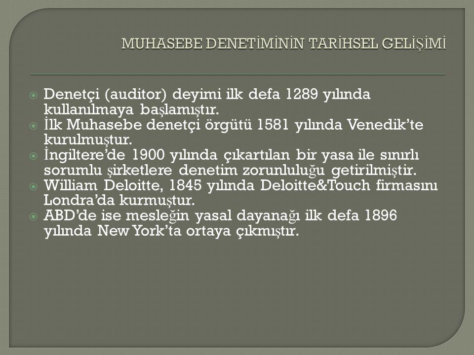  1 Temmuz 2012  6102 sayılı Türk Ticaret Kanununun yürürlü ğ e girmesi.