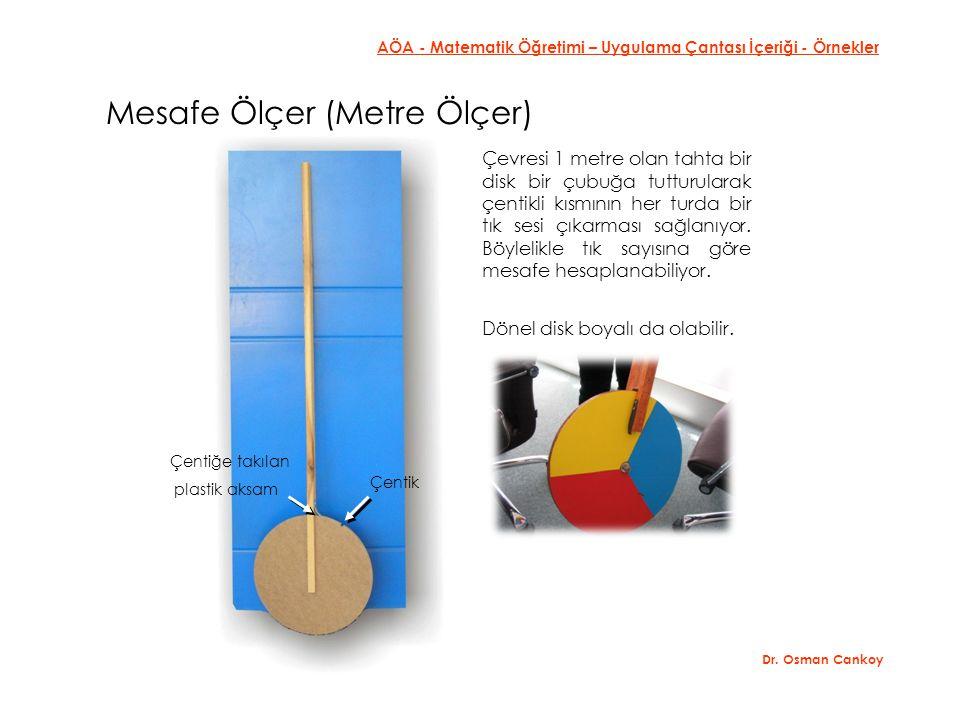 AÖA - Matematik Öğretimi – Uygulama Çantası İçeriği - Örnekler Dr.