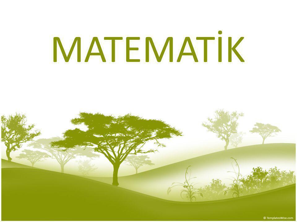 A- Matematik Diline Çevirme Örnek Toplamı 33 olan iki sayıdan büyük olanı küçük olanın 2 katından 6 fazladır.