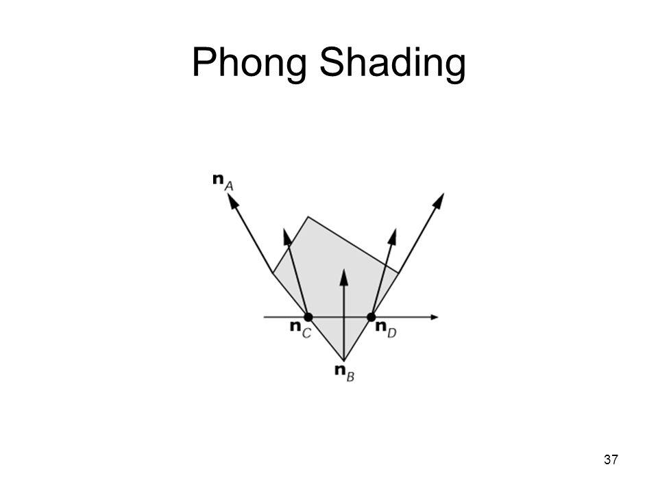 37 Phong Shading