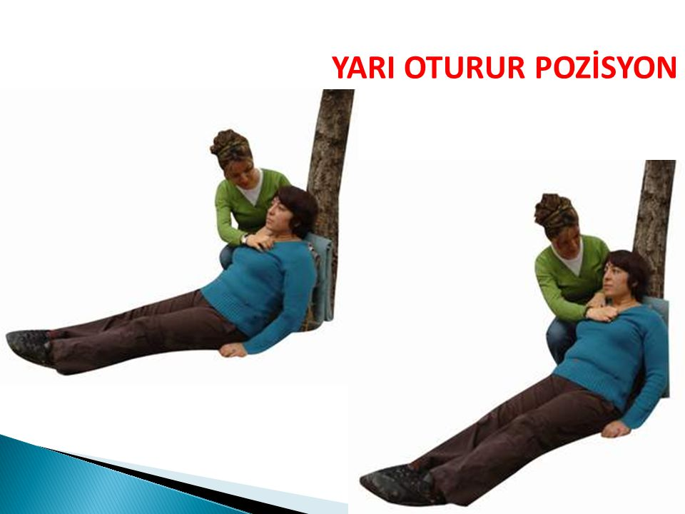 YARI OTURUR POZİSYON