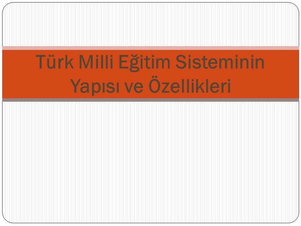 TÜRKİYE'DE ÖRGÜN EĞİTİMİN KADEMELERİ 32 Ortaö ğ retimin Geli ş imi ve Sorunları  Osmanlı İ mparatorlu ğ u döneminde ilk laik liseler, 19.