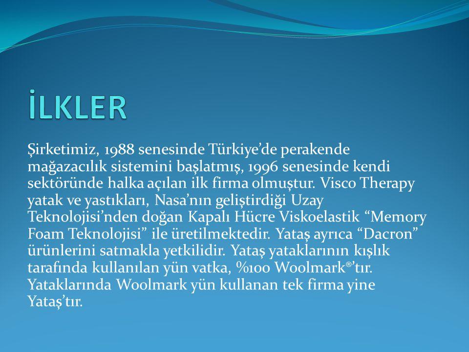 Şirketimiz, 1988 senesinde Türkiye'de perakende mağazacılık sistemini başlatmış, 1996 senesinde kendi sektöründe halka açılan ilk firma olmuştur. Visc