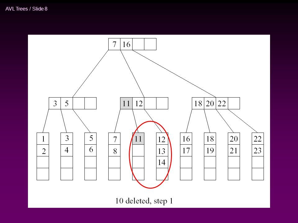 AVL Trees / Slide 19 devamı