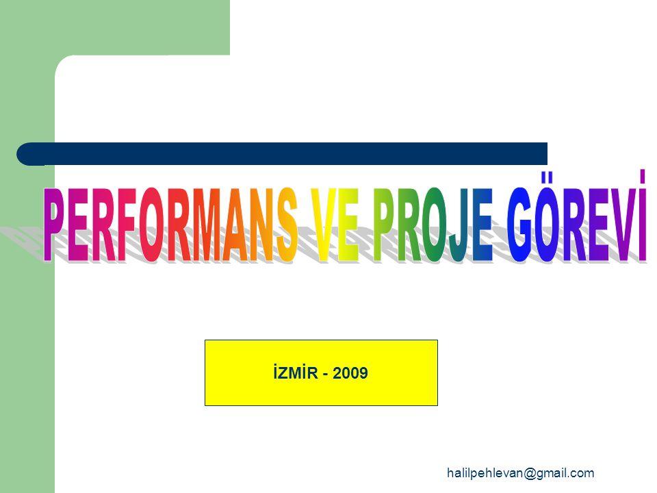 halilpehlevan@gmail.com İZMİR - 2009