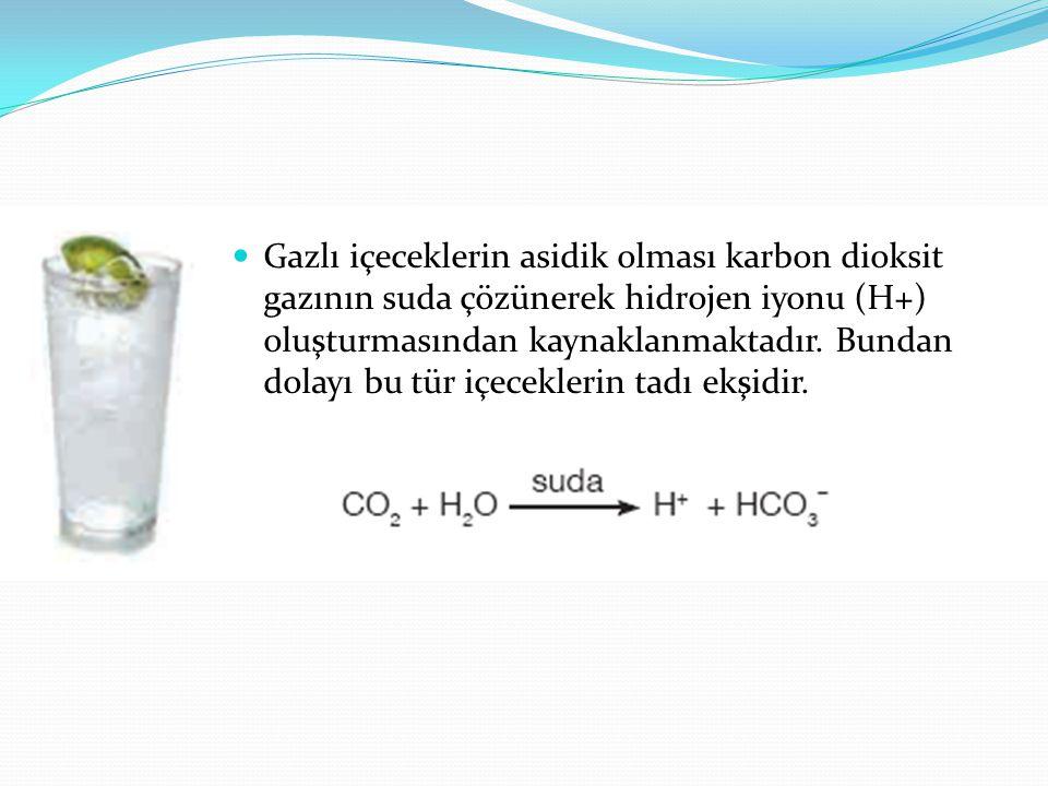 Cam temizleme sıvılarının bazik özellik göstermesi, bu tür maddelerin içinde bulunan amonyaktan kaynaklanır.