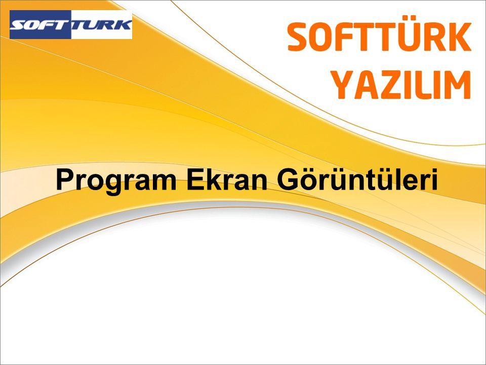 Program Ekran Görüntüleri