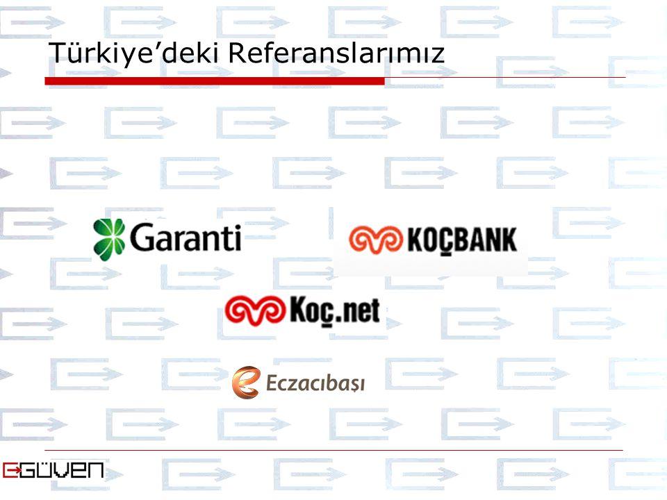 Türkiye'deki Referanslarımız