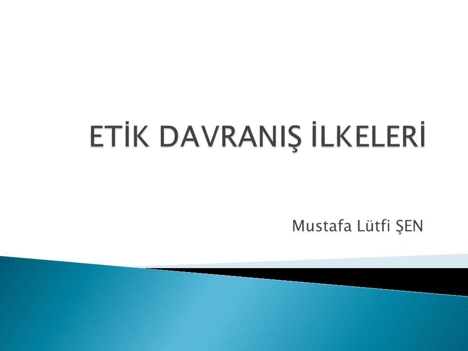 Mustafa Lütfi ŞEN