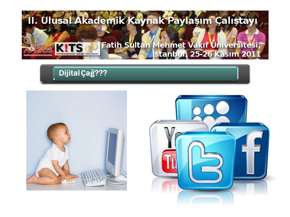 Dijital Çağın Bilgi Kaynakları