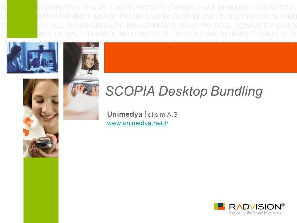 ® SCOPIA Desktop Bundling Unimedya İletişim A.Ş www.unimedya.net.tr