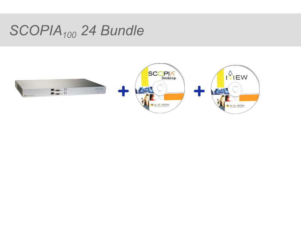 ® SCOPIA 100 24 Bundle ++