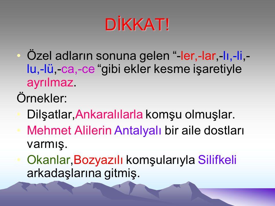 ÖRNEKLER Burcu Erzurum'a gitti. Yunusemre Ağrı Dağı'nı yakından gördü. Emirhan Konya Ovası'nın büyüklüğü karşısında heyecanlandı. Zeynep,Van Gölü'nün