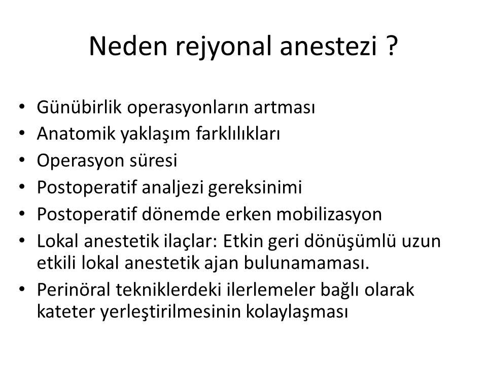 Neden rejyonal anestezi .