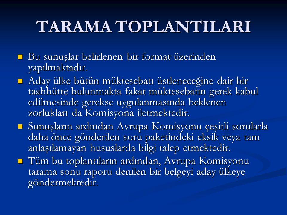 TARAMA SONRASI 2008 yılında Sendikalar Kanunu ile Toplu İş Sözleşmesi, Grev ve Lokavt Kanununda değişiklik öngören Kanun Tasarısı TBMM'inin gündemine gelmiştir.