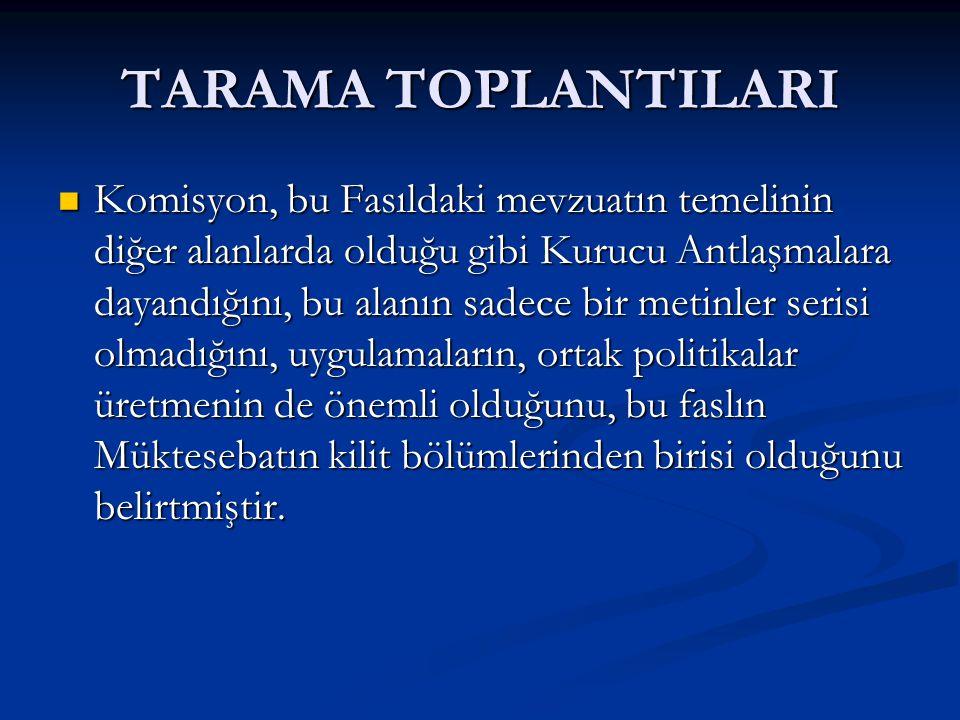 TARAMA RAPORU Avrupa Sosyal Fonu; Avrupa Sosyal Fonu; Türk makamları, Avrupa Sosyal Fonunun (ESF) gelecekteki yönetimine hazırlık yapılması amacıyla IPA 4.
