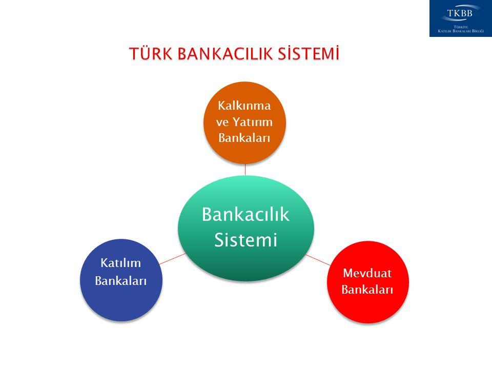 Bankacılık Sistemi Kalkınma ve Yatırım Bankaları Mevduat Bankaları Katılım Bankaları