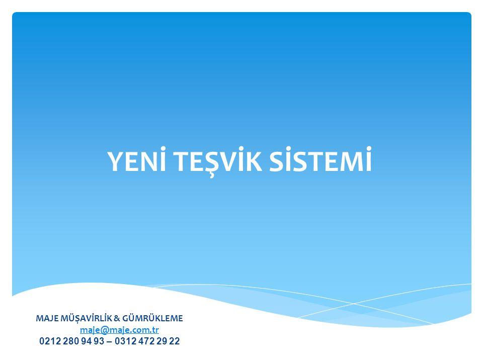  Genel Teşvik Sistemi Asgari Sabit Yatırım Tutarı  1.