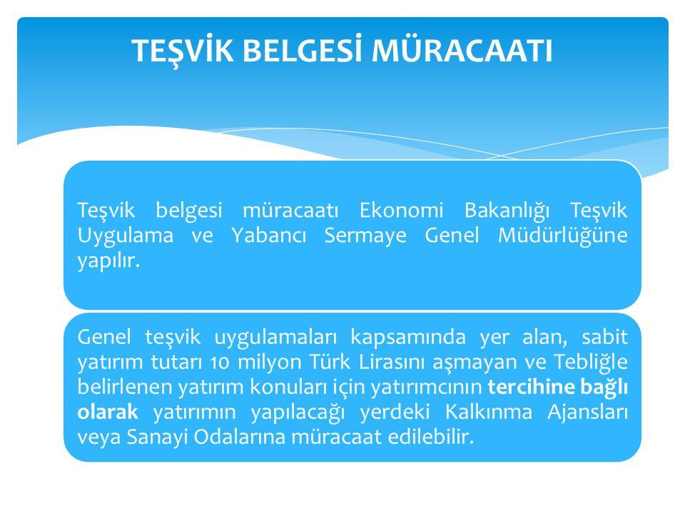  Savunma Sanayii Müsteşarlığından alınacak proje onayına istinaden gerçekleştirilecek asgari yirmimilyon Türk Lirası tutarındaki savunma, havacılık ve uzay alanındaki yatırımlar.