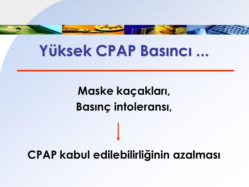 APAP x CPAP AHİ, ESS, Kompliyans, Ortalama PAP basıncı Sonuçlar benzer...