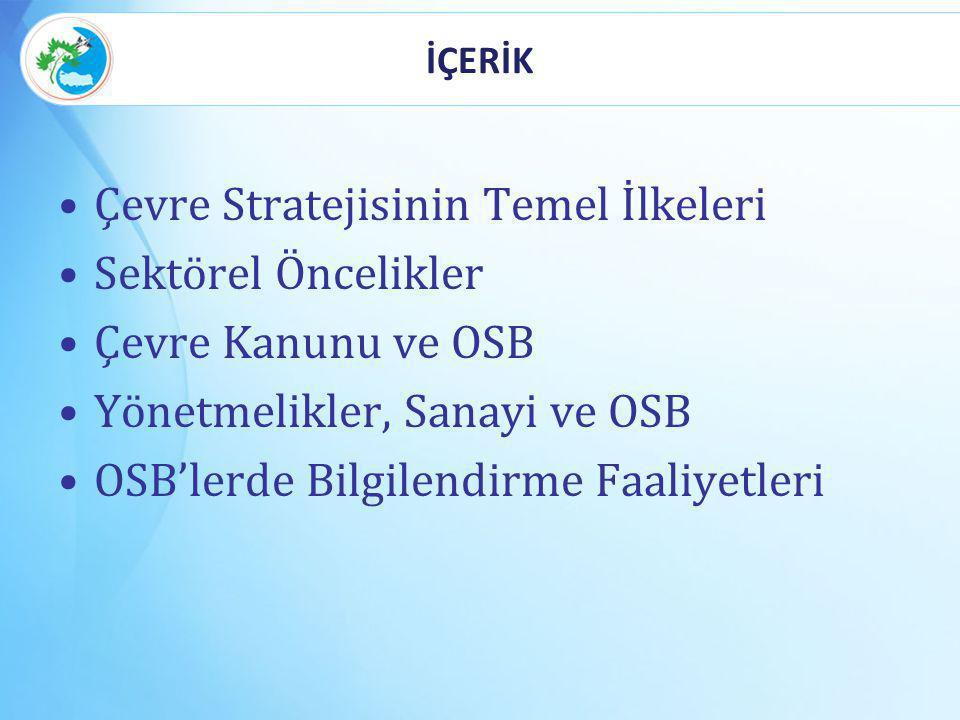 OSB VE GÜVENLİK OSB'lerde üst seviyeli tesisler bulunmaktadır.