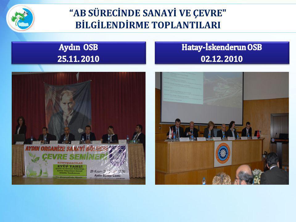 """""""AB SÜRECİNDE SANAYİ VE ÇEVRE"""