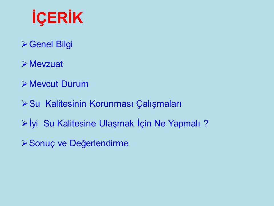 33 SONUÇ VE DEĞERLENDİRME  Türkiyenin su kaynakları yaygın kanaatin aksine bol değildir.