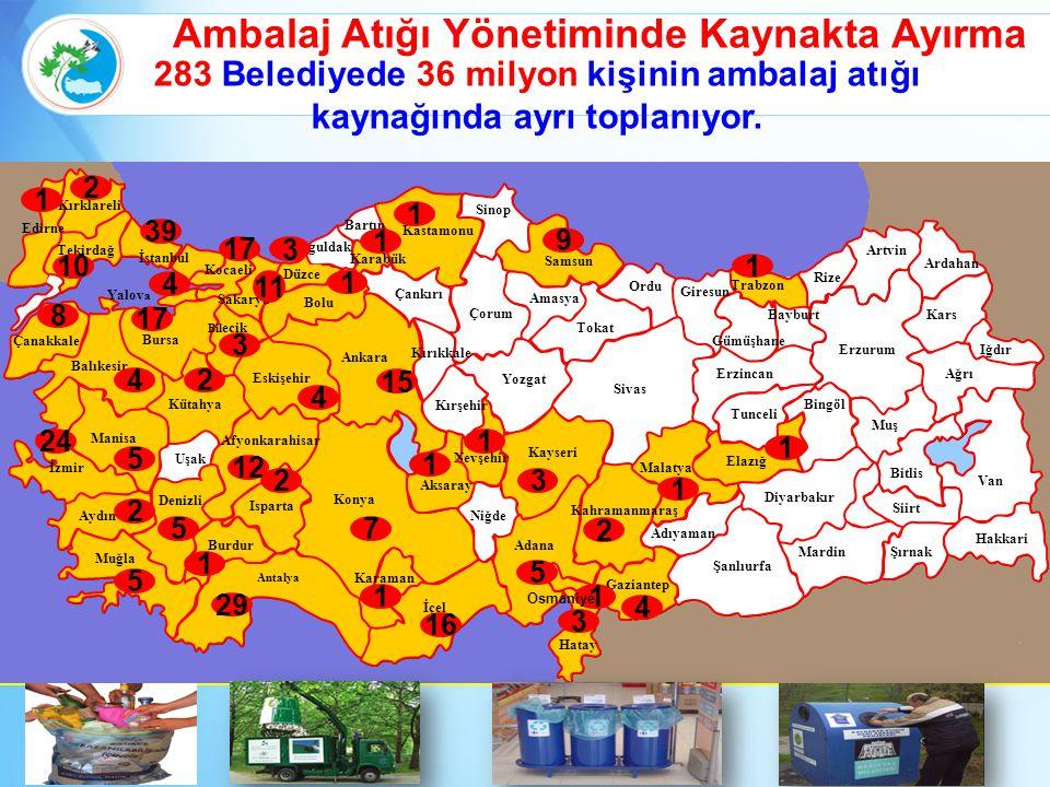 Yalov a 17 11 29 15 4 4 24 39 7 17 10 16 9 2 5 5 2 4 1 2 5 1 5 12 4 3 1 3 1 1 2 2 3 1 1 3 8 1 1 1 1 1 Osmaniye Ambalaj Atığı Yönetiminde Kaynakta Ayır