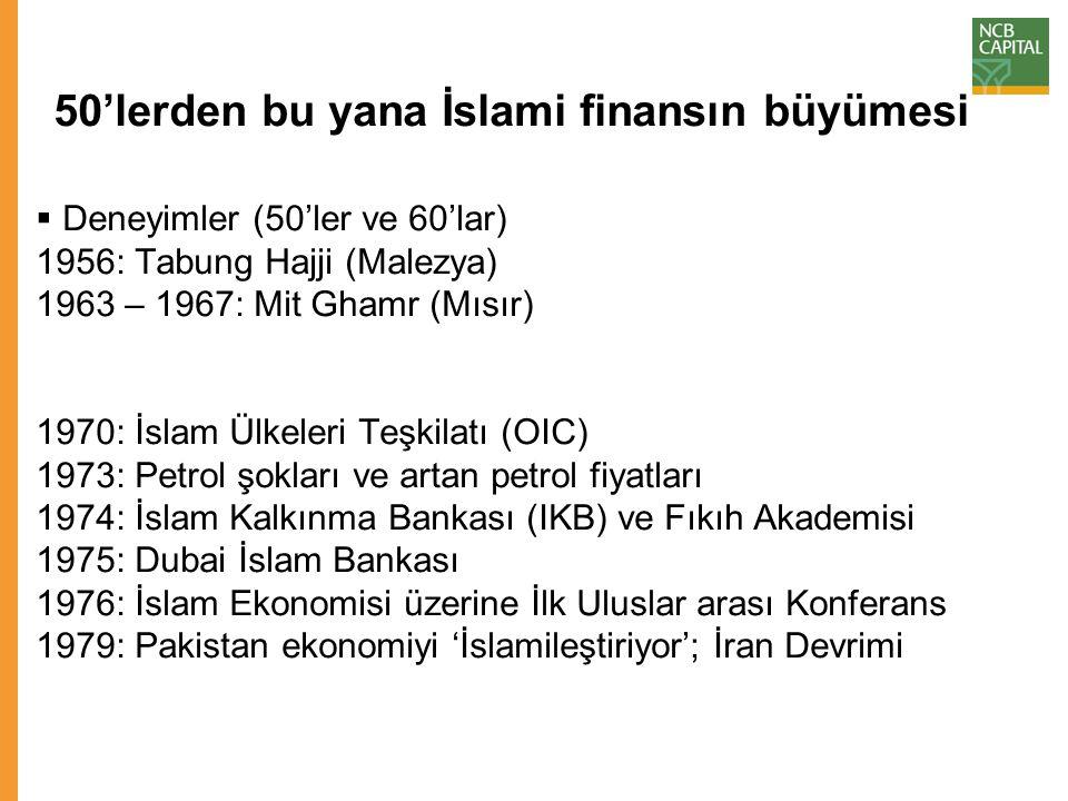 Nihai düşünceler – Türkiye için anahtar mesajlar Bugün, katılım bankacılığı aktifleri Türkiye'deki toplam bankacılık aktiflerinin %4 - %5'ini oluşturmaktadır.