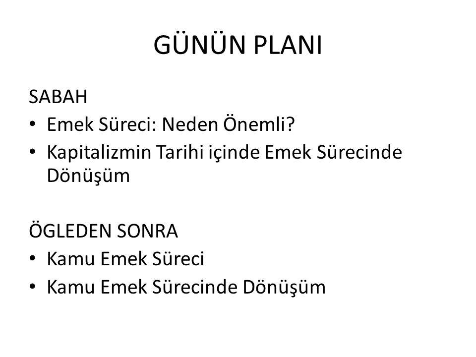Türkiye'de Eğitim 1.Esneklik: Norm Kadro 2.